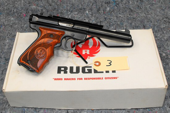 (R) Ruger MK III 22 LR Target Pistol