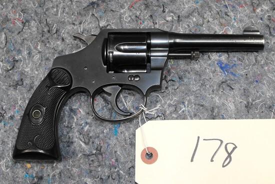 (CR) Colt Police Positive 38 Cal Revolver
