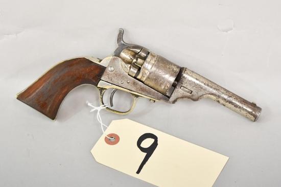 Colt Solid Barrel Type .38 Rimfire Revolver