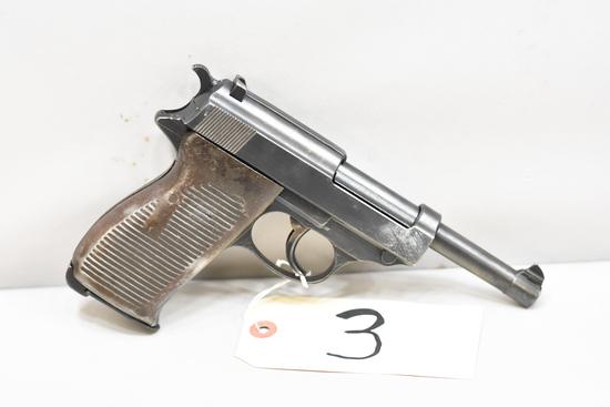 (CR) Mauser SVW 45 P.38 9mm Luger Pistol