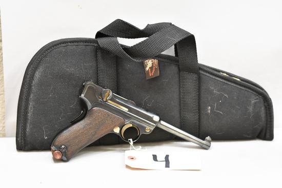 (CR) DWM American Eagle Test Luger 30 Luger Pistol