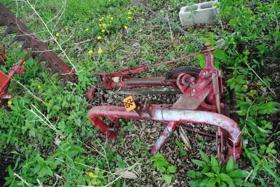 3-Point sickle mower with 7' bar
