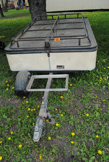 CombiCamp trailer with permanent license