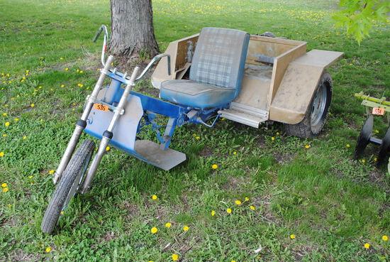 Homemade Trike with Volkswagon motor, not running