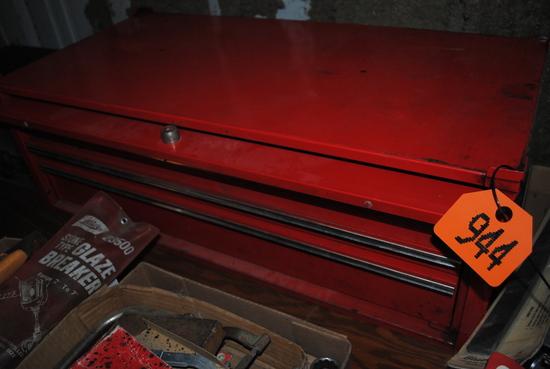 Snap-On 3-drawer top tool box