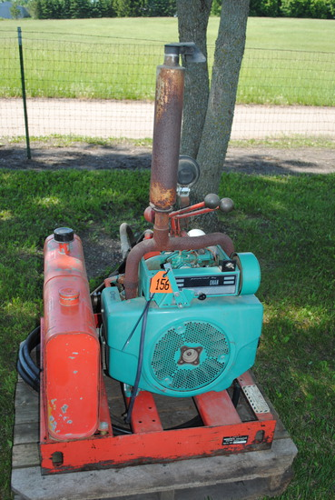 Hydraulic Hesston Power Pack with Onan Engine, new battery, owner states it works good