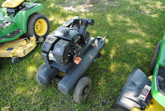 Kohler Courage 6.5HP 196 cc Gas Air Compressor, new, does not have oil or gas in yet
