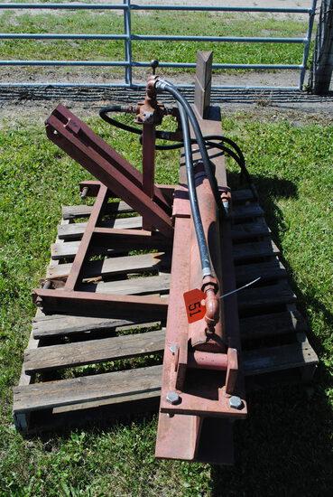 3-Point Hydraulic Wood Splitter, 3' Ram, works