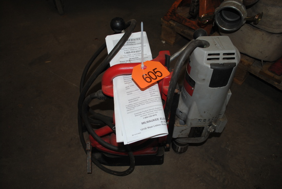 Milwaukee Heavy Duty Electromagnetic Drill Press