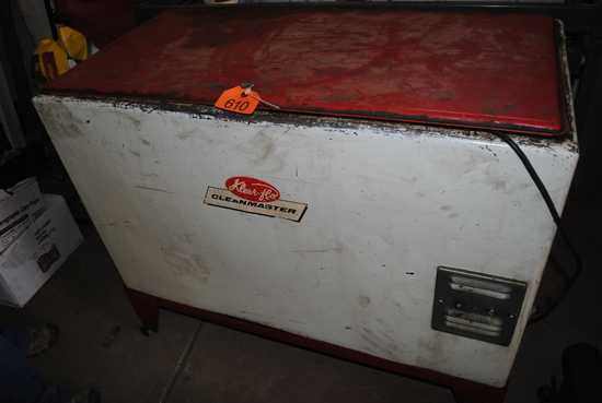 """Kleer-Flo Clean Master """"Super Cleanmaster Model 90"""" Parts Washer"""