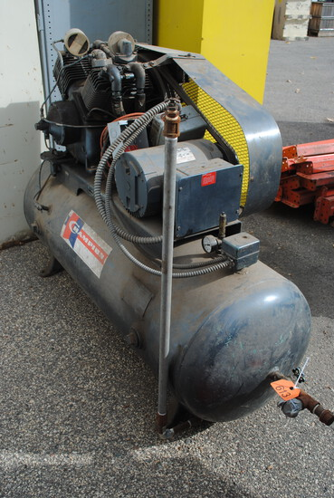 Champion 80+/- Gallon Single Phase 220 Air Compressor, recently being used in shop