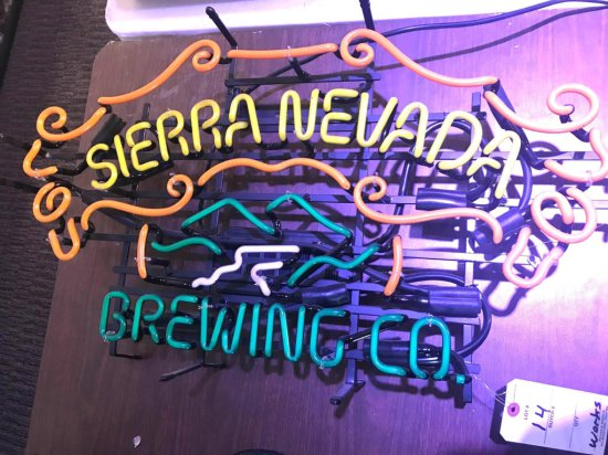 Sierra Nevada Neon Sign