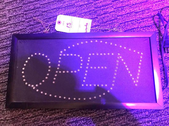 """Open"" 20"" LED Light"