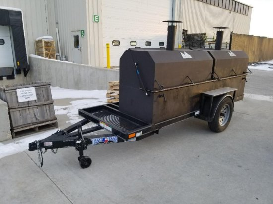 "Green Mountain Grill ""Junior II"" Trailer Pellet Grill"