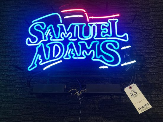Samuel Adams Neon Sign