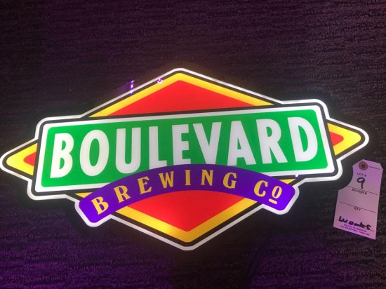 Boulevard Lighted Sign