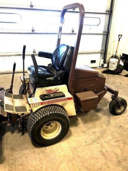 Grasshopper 721DT Zero Turn Lawnmower