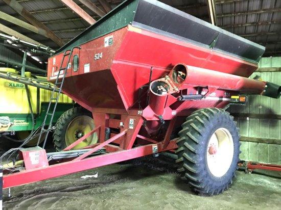 Parker 524 Grain Cart