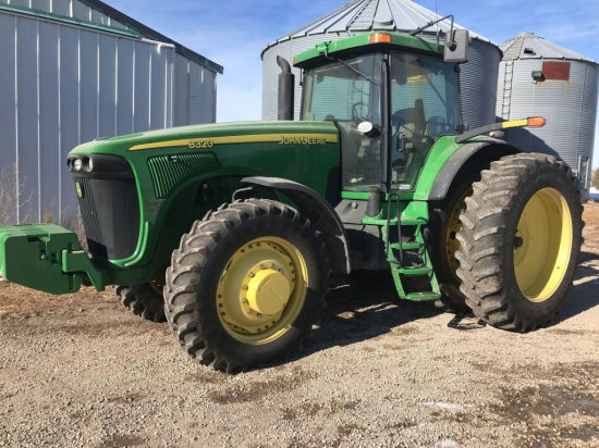 JD 8320 MFD Tractor
