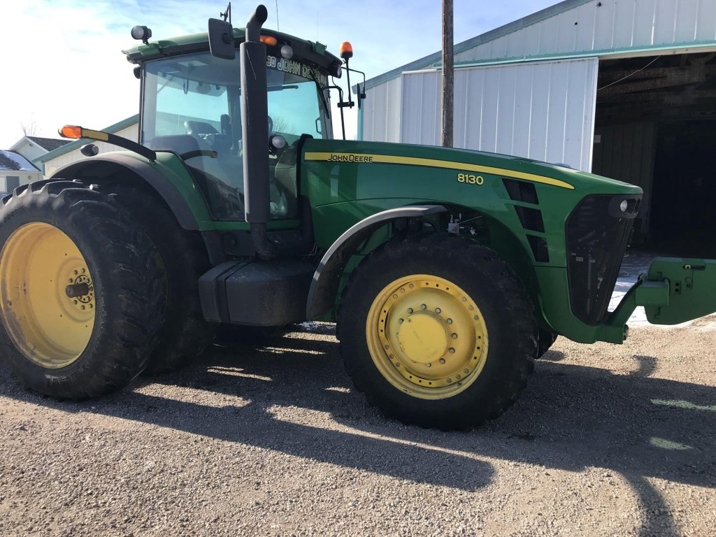 JD 8130 MFD Tractor