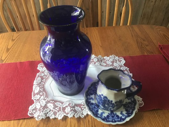 Vase, Pitcher, and Plate