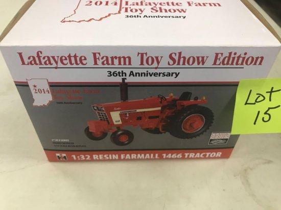 """IH 1466 """"Lafeyette Farm Toy Show Edition"""""""