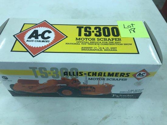 "Allis Chalmers ""TS-300"" Motor Scraper NIB"