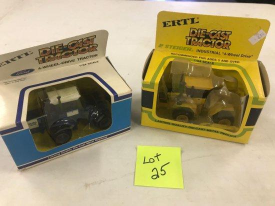 Ertl 4Wd Assortment inc. Ford Steiger