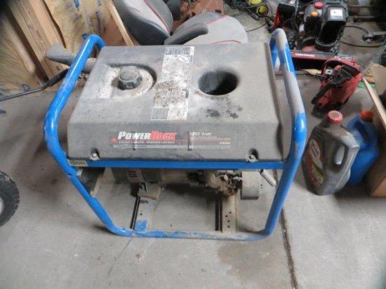 Back Gt5250 5250 Watt Elec Generator