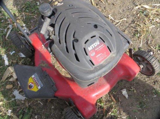 MTD mower