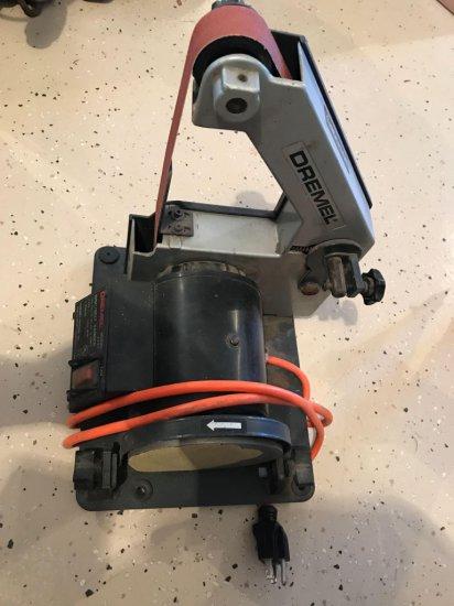 Dremel model 1731 5'' disc/belt sander