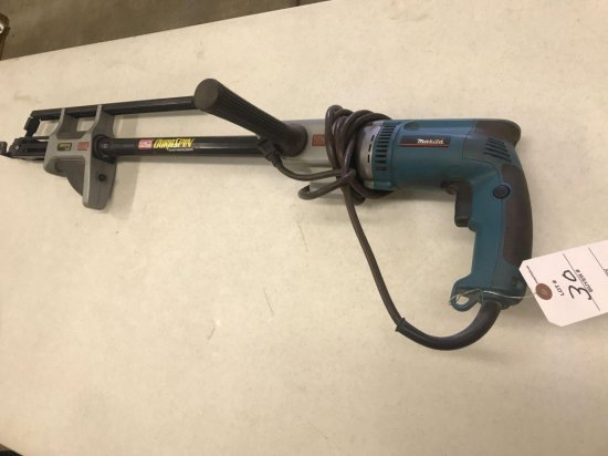Makita model 6823Z electric DuraSpin - Works well!