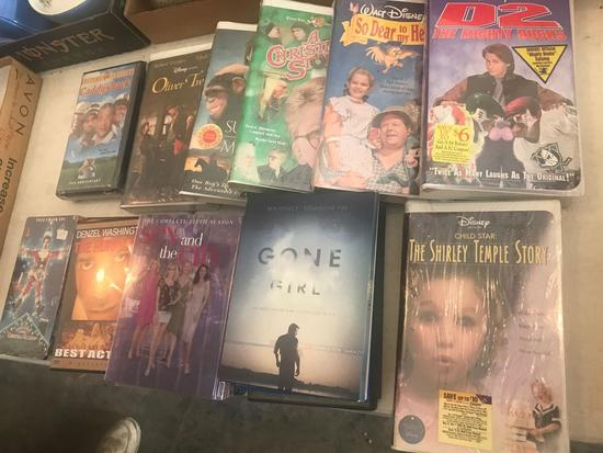 Movies, VHS and DVD