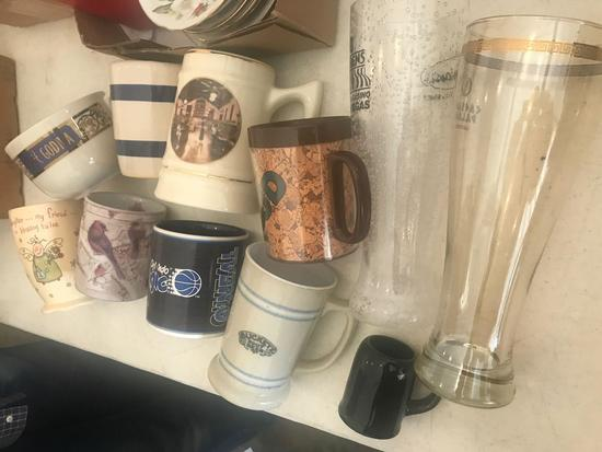Cups and Beer Steins
