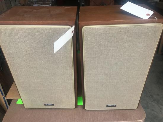 (2) Advent Speakers. Pick Up Only