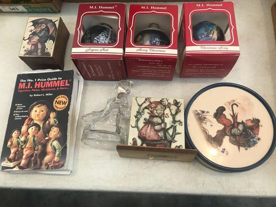 Hummel Collectibles plus Hummel Reference Book