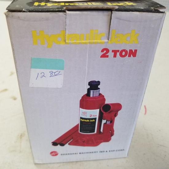 2 TON GOLDEN GEAR HYDRAULIC JACK