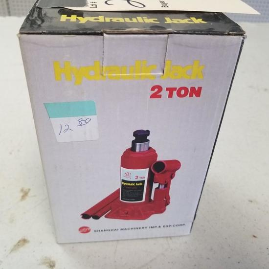 2 TON GOLDEN GEAR HYDRUALIC JACK