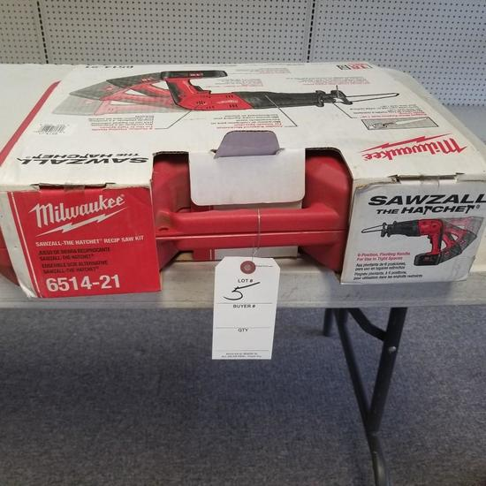 MILWAUKEE MODEL 6514-21 18v SAWZALL