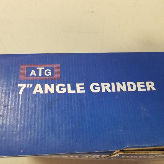 "AMERICAN TOOL GROUP 7"" SIDE GRINDER"