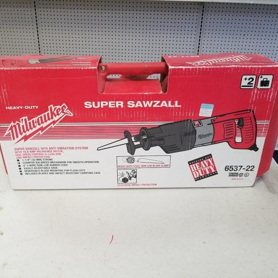 MILWAUKEE SUPER SAWZALL MODEL 6537-22