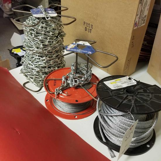 ASSRT BULK CABLE AND CHAIN