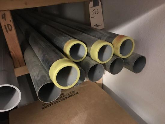 ASST PVC AND GALVINIZED PIPES