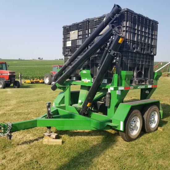 Hitch Doc Travis Easy Load 2 box Seed Cart