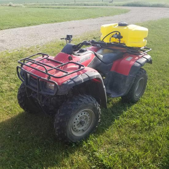 2003 Honda Rancher 4WD ATV