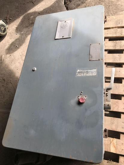 A-B ELECTRIC STARTER BOX