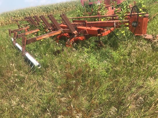 MF 880 6x18? auto reset Plow w/buster bar;