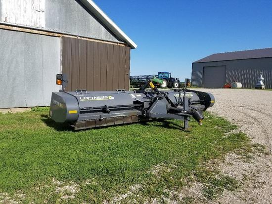 2013 Loftness 15' Stalk chopper, 1000 pto