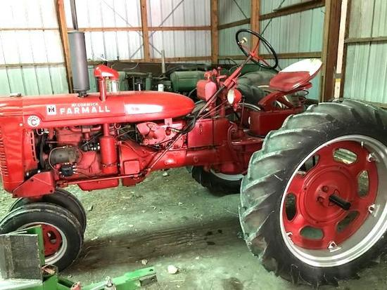 1951 Farmall Super C restored