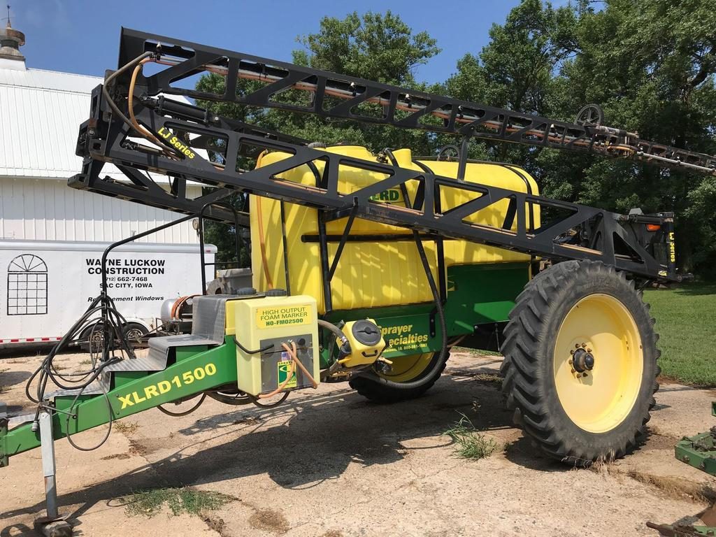 Sprayer Specialties XLRD1500 Sprayer